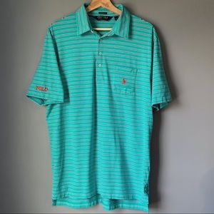 Polo Ralph Lauren Golf Mens Polo Shirt Size Large